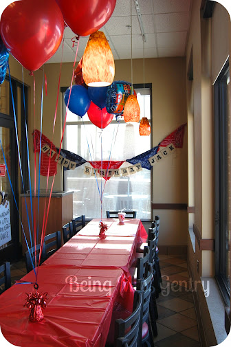 chick fil a birthday party Being Mrs. Gentry: Third Birthday Party at Chick fil a chick fil a birthday party
