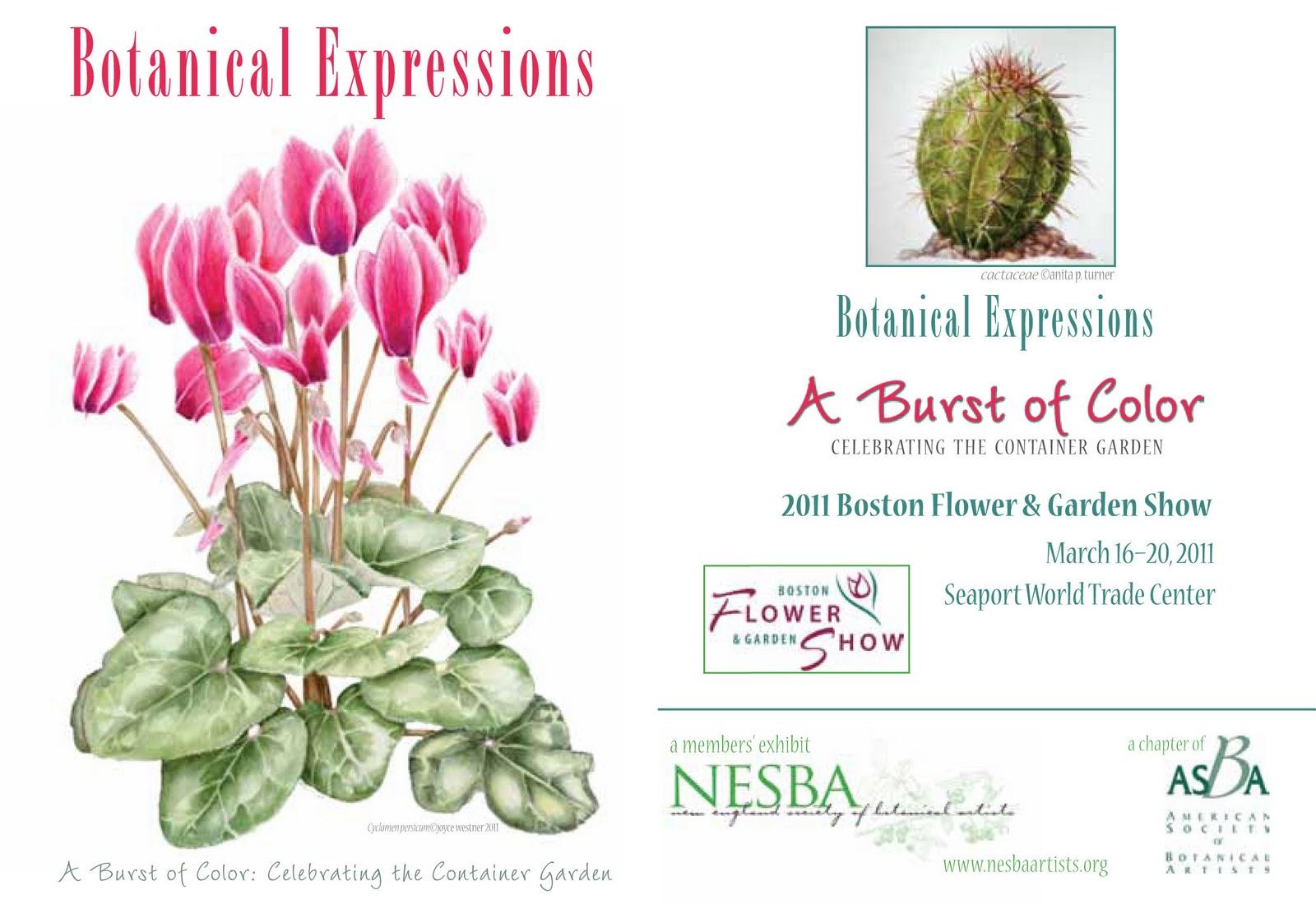 Nesba Artists Nesba Members Install Flower Show Exhibit