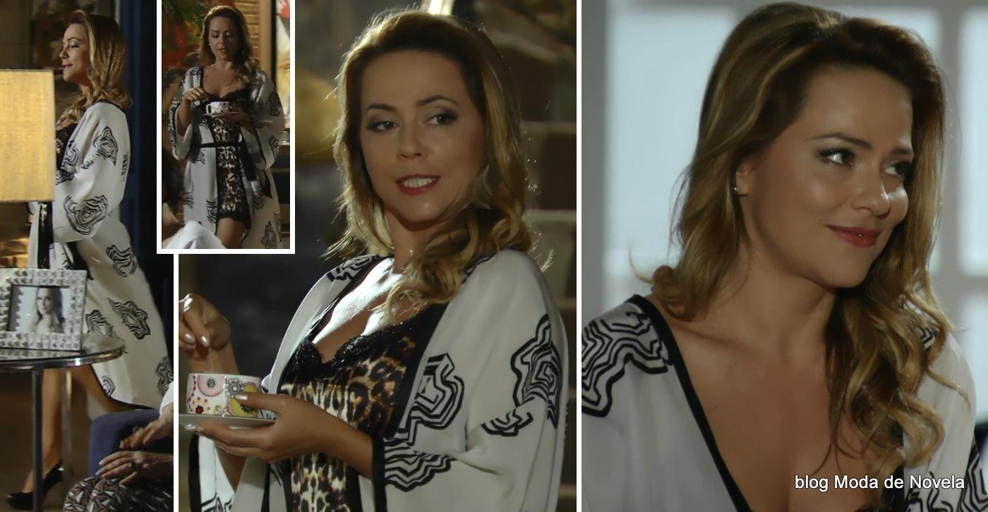 moda da novela Em Família - look da Shirley dia 22 de maio