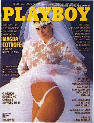 Magda Cotrofe - Playboy 1987