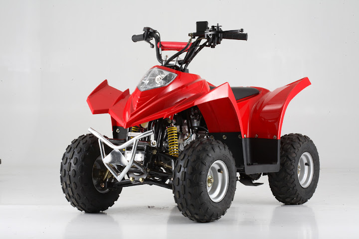 90cc Kanga Kids Quad Bike Red