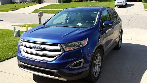 2015 ford edge titanium v6 awd ride report flyertalk forums - 2015 Ford Edge Guard