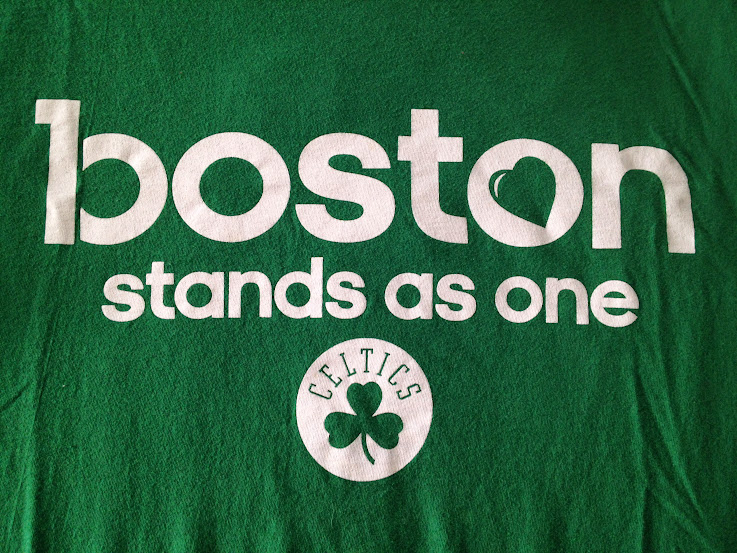 Boston Celtics Boston Stands as One tee shirt