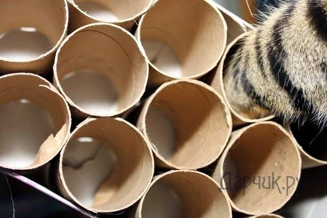 Игрушка кот своими руками из бумаги