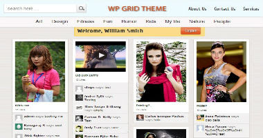 WP Gride Theme