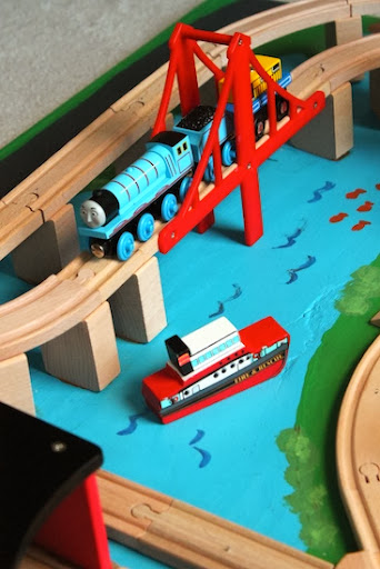 Luxury The Melissa u Doug set came with engines and accessories but it us pletely patible with the Thomas and Friends wooden railway trains so Thomas can