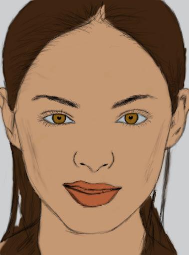 Digital Paint งานทดลองใช้ USB Graphic Tablet (เม้าส์ปากกา) BasicColor