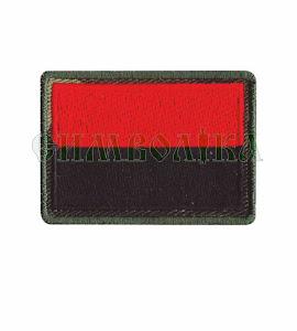 Прапорець червоно-чорний 5х3,5 см