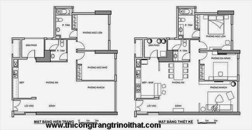 Hoàn thiện nội thất căn hộ 100m2 với 200 triệu đồng-13