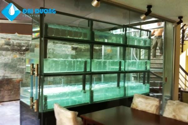 dàn hồ hải sản nhà hàng hào bàng 8