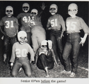 Dulles Powder Puff Football, 1969!