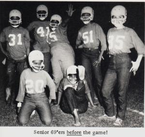 Dulles Powder Puff Football, 1969!