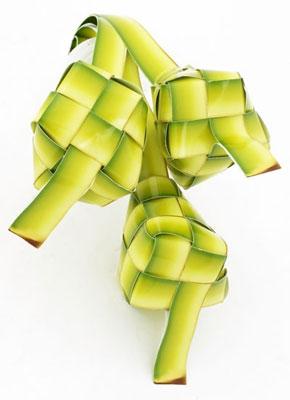Ketupat or Malay Rice Dumpling