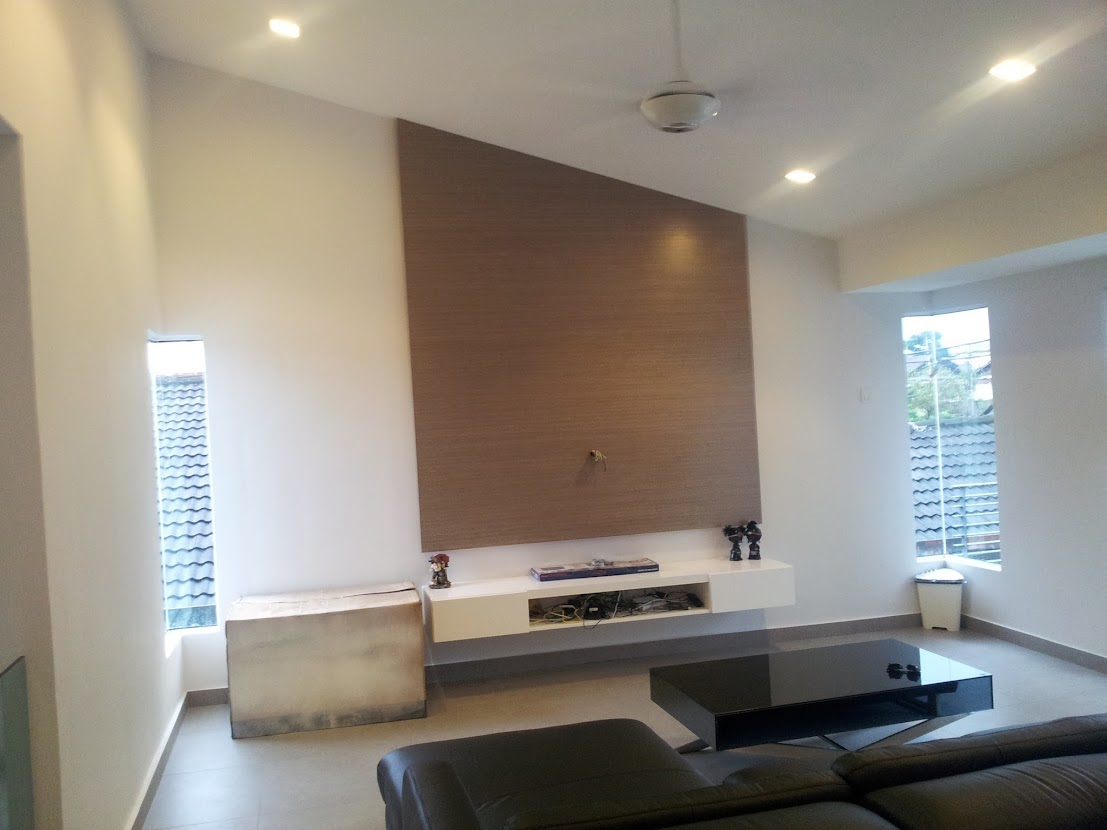 living feature wall