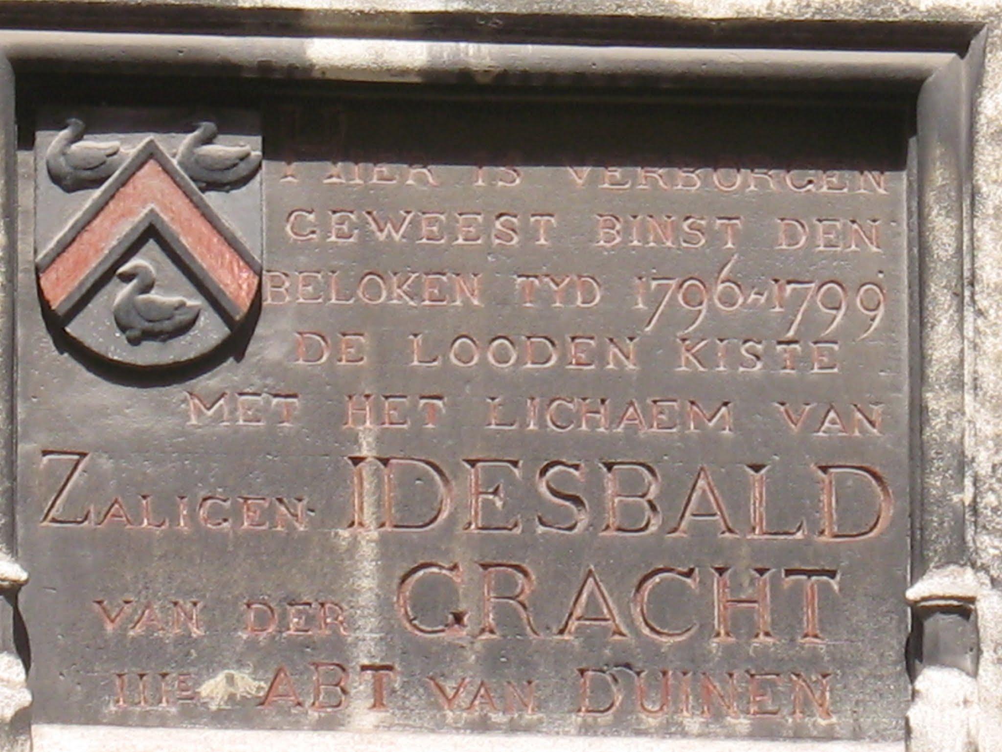 Afbeeldingsresultaat voor idesbald van der gracht, abt van duinen