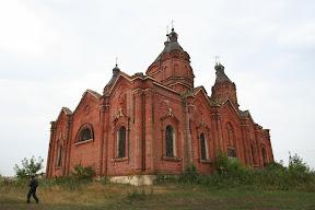 Napuštena pravoslavna crkva, blizu republike Tatarstan