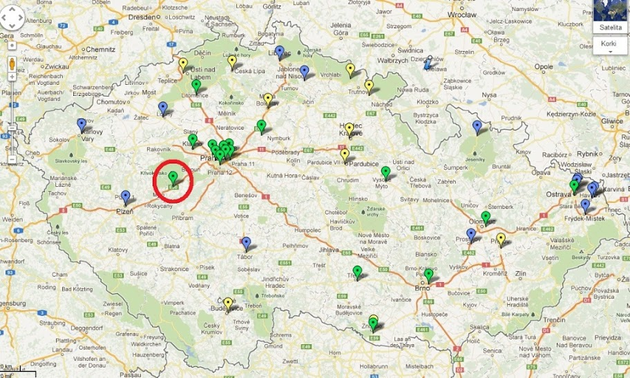 Czechy. Stacja CNG w Zebrak to 40 punkt tankowania w tym kraju