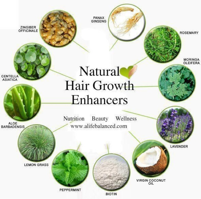 Herbal for hair growth