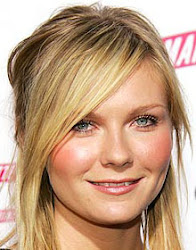 Kirsten Dunst rosto redondo