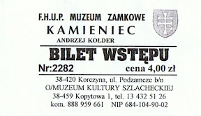 zamek kamieniec - bilet
