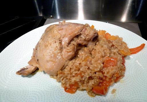 Bonnie's fabulous Kitchen: Spicy Coconut Chicken Casserole