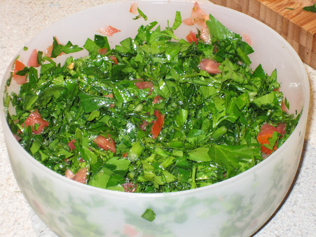 homemade Tabouli is a treat and easy to make