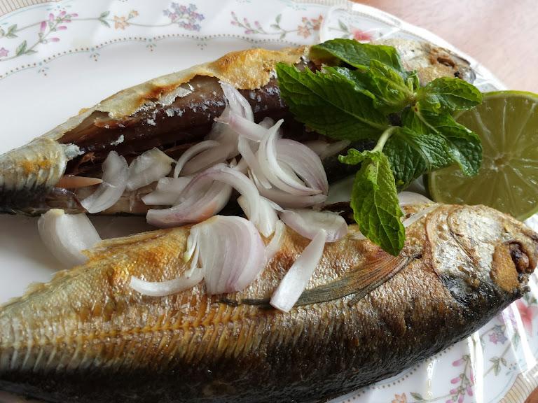 วิธีทำปลาทูเค็มหางแข็งไว้ทานเอง