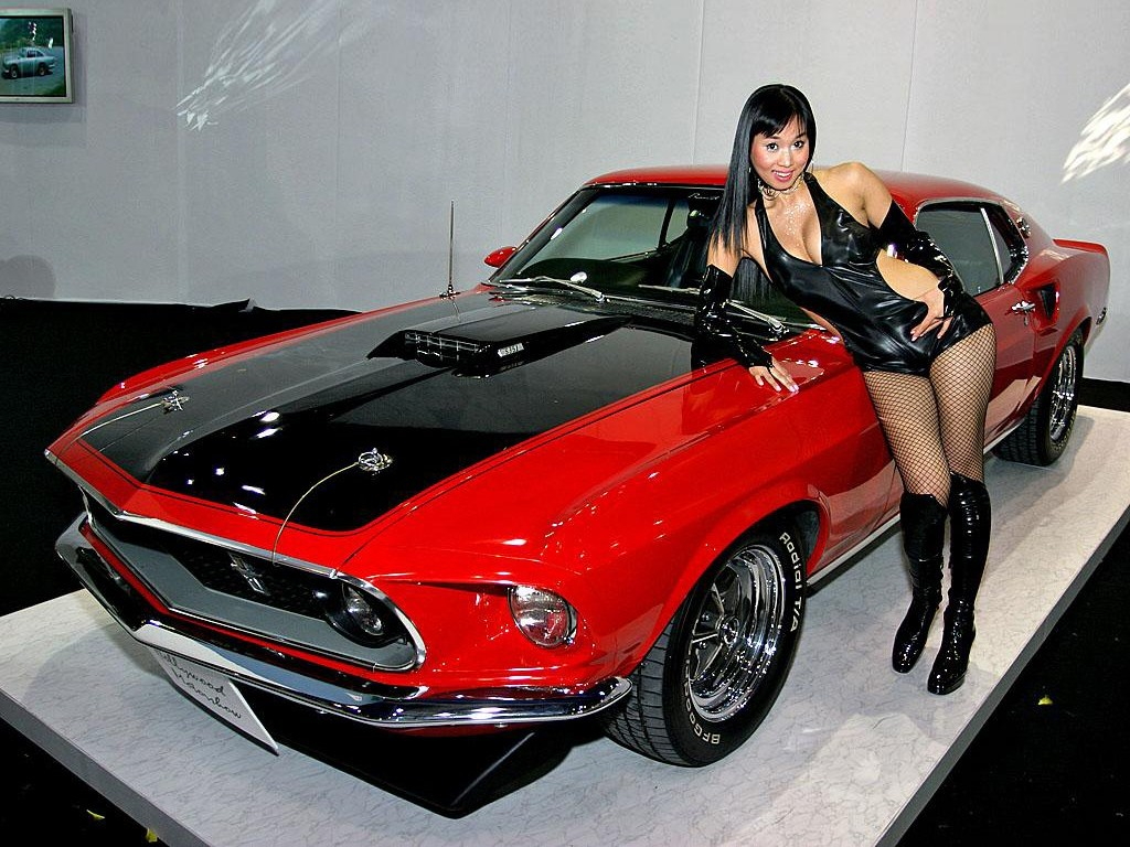 Cars Showroom American Muscle Cars-8493