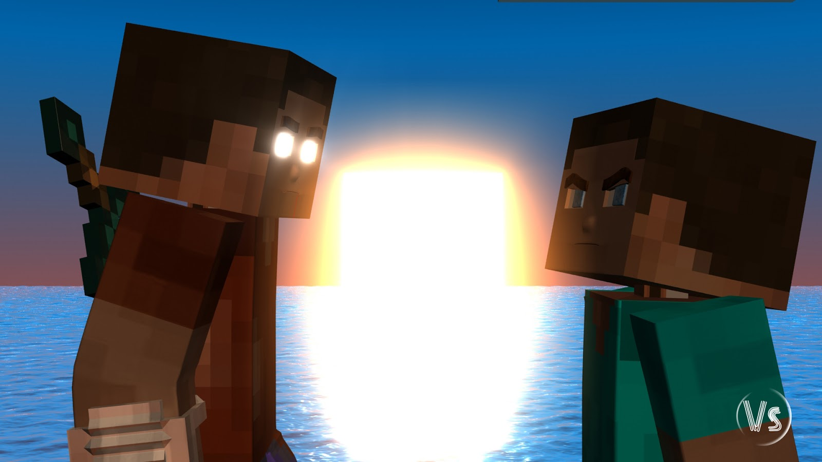 Minecraft Herobrine Vs Steve Wallpaper Profile