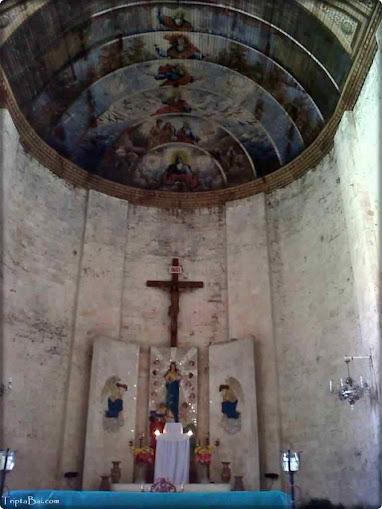sibonga church altar