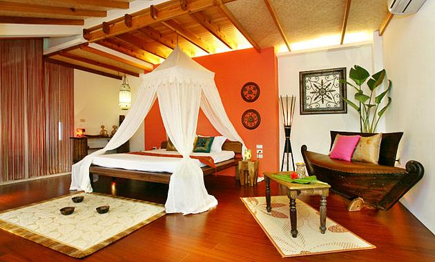 花間雅舍民宿營造峇里島SPA的奢華浪漫感