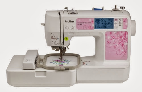 Brother PE500 4x4 Embroidery Machine With 70 Built-in Designs and 5 Fonts