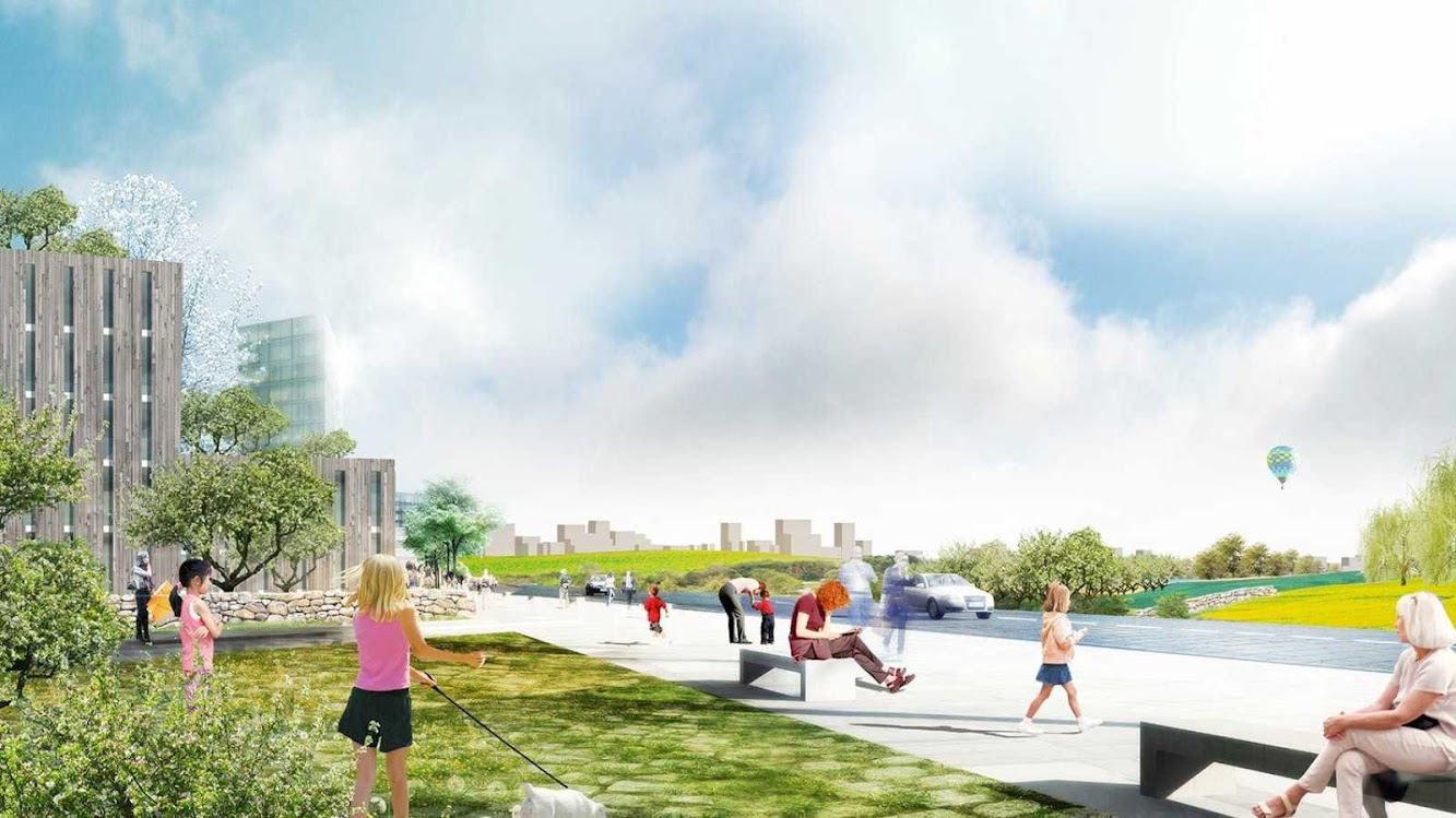 06 Urban Plan for Stavanger by Mvrdv and Space Group