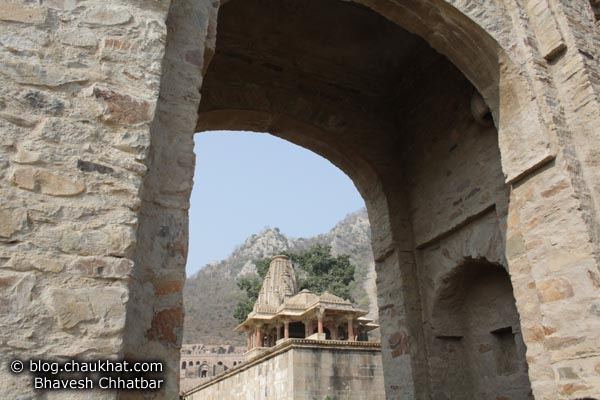 Bhangarh - Entrance