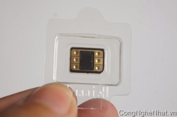 Sim ghép Heicard dành cho iphone 5S/5C