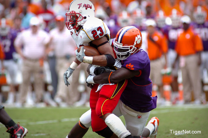 Clemson vs. Maryland Photos - 2008, Football, Maryland, Ricky Sapp
