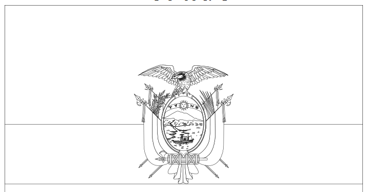 Geography blog ecuador flag coloring page for Ecuador flag coloring page