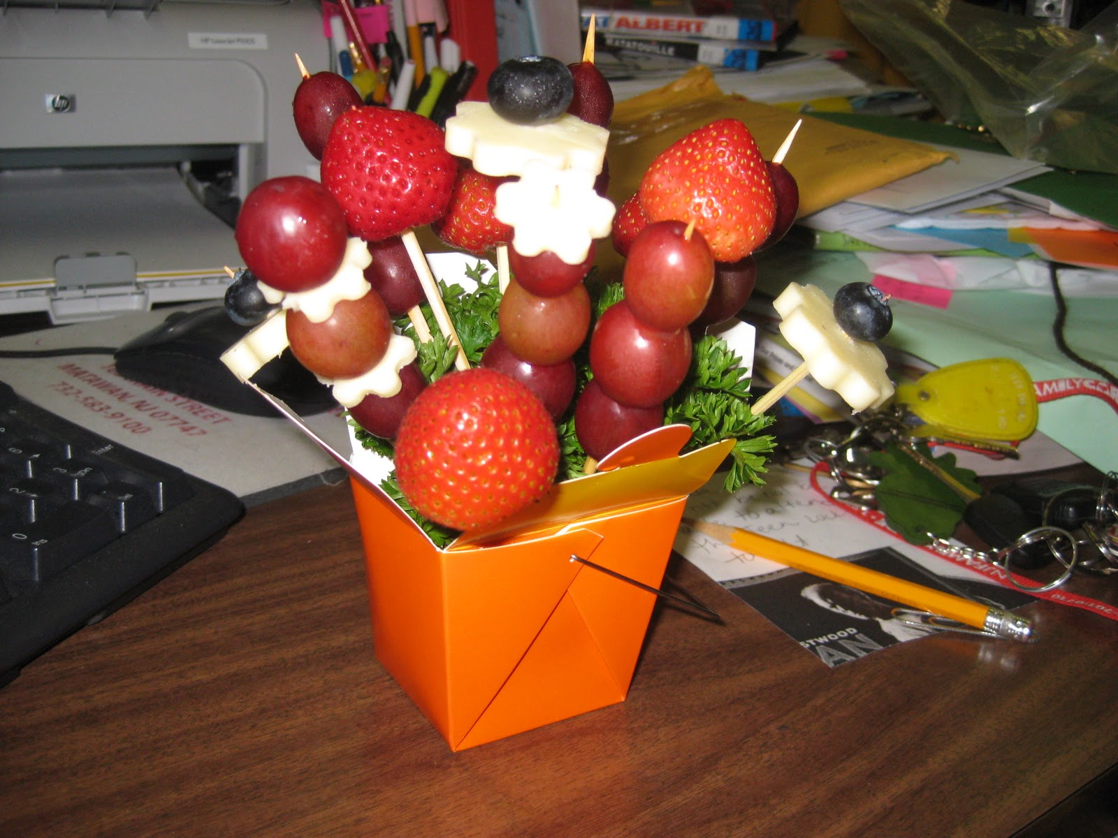 You Can Do This At Your Library Edible Arrangements