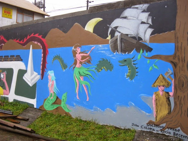 Myths of an isolated island chiloe md no susume for El mural trailer