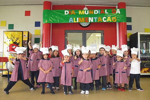 Crianças aprenderam a privilegiar alimentos saudáveis