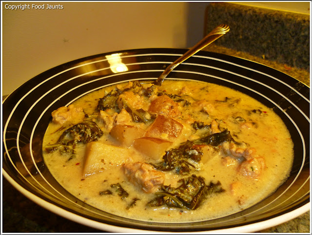 Slow Cooker Pork Zuppa Toscana