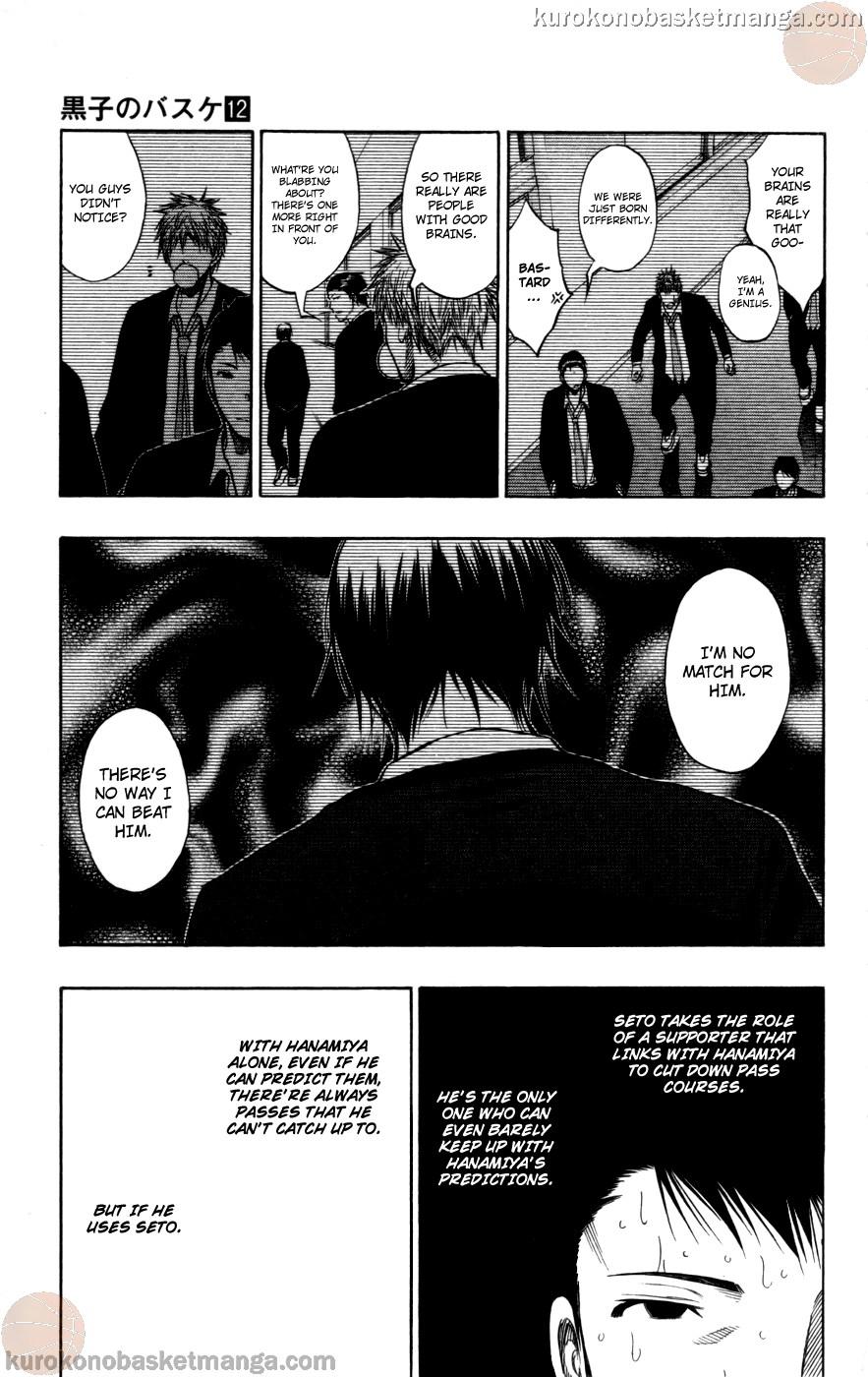 Kuroko no Basket Manga Chapter 104 - Image 15