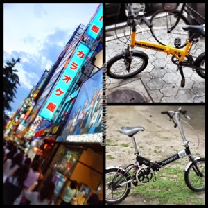 Tokio y bicis plegables