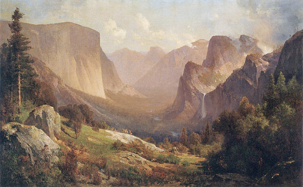 Thomas Hill - View of the Yosemite Valley, 1871