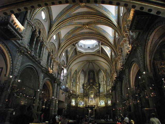 Santa Maria de Montserrat Monastery Interior