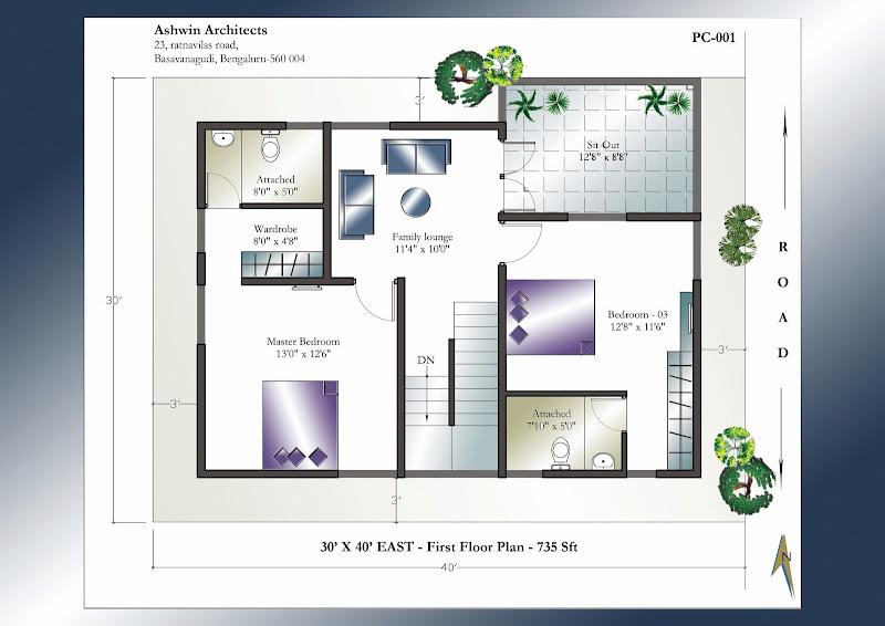 30'+X+40'+East Pre FF 30 40 duplex house plans with car parking 30 diy home plans database,30 By 40 Duplex House Plans