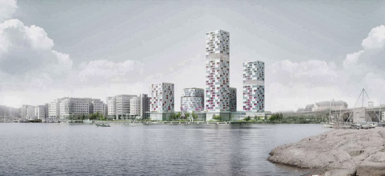 Stoccolma, Svezia: Search Wins Urban Renewal of Marievik Competition