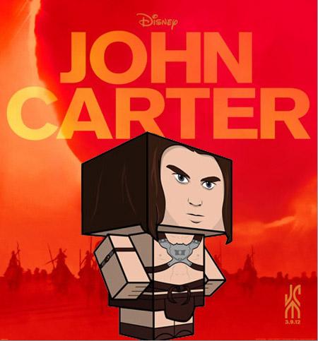 John Carter Papercraft