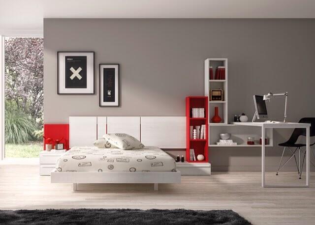 Tipos de camas para dormitorios juveniles - Cama tipo tatami ...