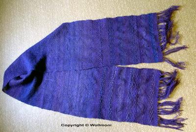 Wollmoni´s Schal auf dem Lecerc Artisat